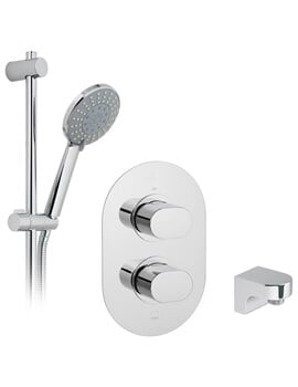 Vado Life Thermostatic Shower Valve With Slide Rail Kit