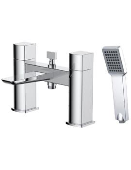 Frontline Aquaflow Sabre Bath Shower Mixer Tap With Kit