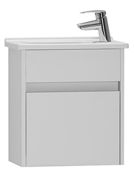 VitrA S50 Compact Wall Hung Vanity Unit And Basin