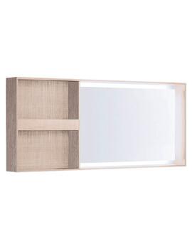 Geberit Citterio Illuminated Mirror With Lateral Storage Shelf