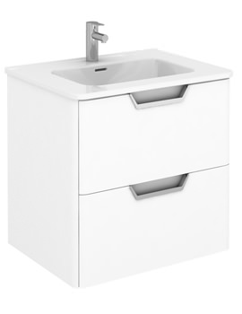 Frontline Royo Life 600mm 2 Drawer Wall Hung Vanity Unit