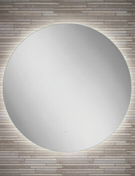HIB Sphere 60 LED Illuminated 600mm Round Mirror