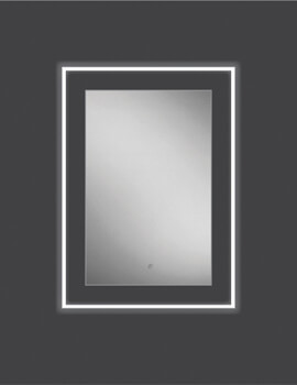 HIB Element 50 LED Illuminated Mirror 500 x 700mm
