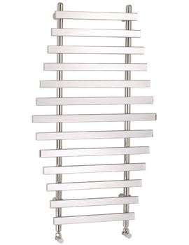 Frontline Samba 700 x 1200mm Designer Radiator Polished Chrome
