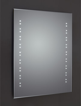 Frontline Ballina 400 x 600mm Bevel Edged LED Mirror With Sensor And Shaving Socket
