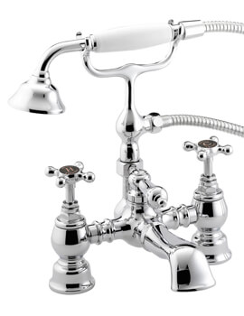 Bristan Trinity Bath Shower Mixer Tap With Handset And Hose