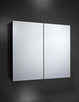 Frontline Fulford 600mm Wide Double Door Mirrored Cabinet