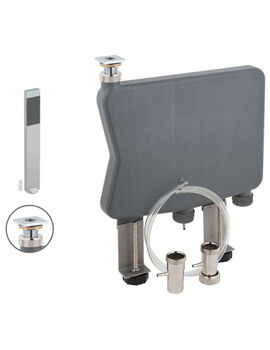 Vado Notion Capsule Kit With Single Function Shower Square Handset