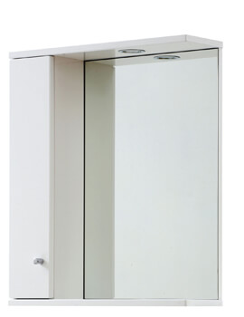 Frontline Aquapure Illuminated Mirrored Cabinet