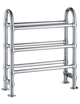 Frontline State 683 x 778mm Traditional Towel Rail