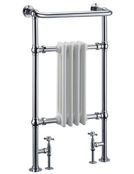 Frontline Radley 493 x 944mm Traditional Towel Rail