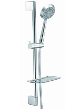 Frontline Aquaflow Italia Sloane Slide Rail Shower Kit with 3 Function Hand Shower