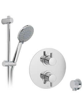 Vado Celsius 1 Outlet Thermostatic Shower Valve With Shower Kit