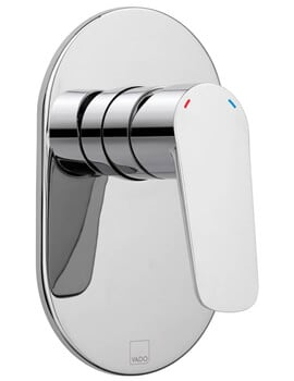 Vado Photon Wall Mounted Concealed Shower Valve Without Diverter