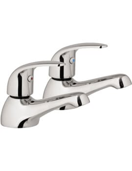 Frontline Compact Single Pair Of Basin Taps