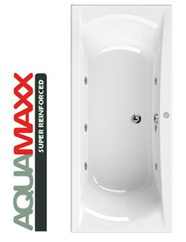 Aquaestil Arena Aquamaxx 1700 x 750mm Whirlpool Bath