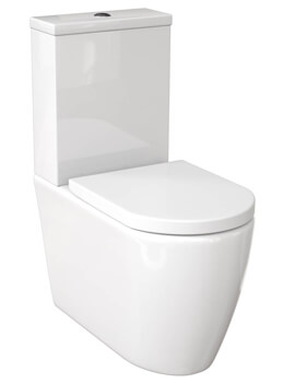 Saneux Uni Close Coupled WC Pan With Cistern