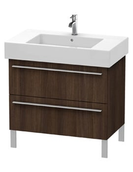 Duravit X-Large 2 Pull-Out Compartment Vanity Unit For Vero Basin