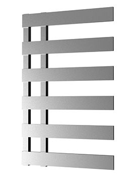Radox Dora 500 x 810mm Chrome Designer Radiator