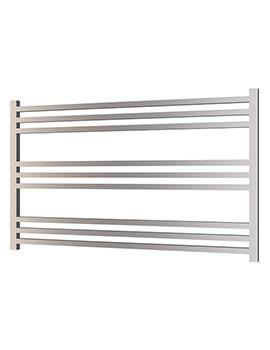 Radox Quebis 1000 x 610mm Horizontal Heated Towel Rail In Chrome