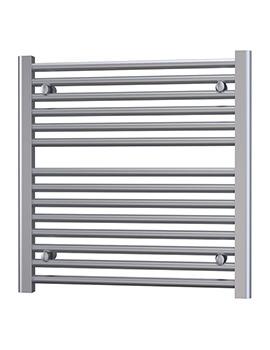 Radox Premier Flat Horizontal Heated Towel Rail 600 x 600mm
