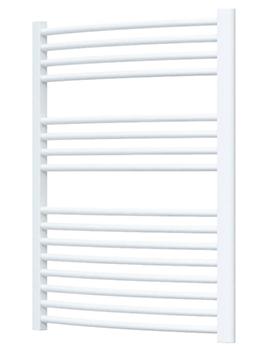 Radox Premier Curved Heated Towel Rail 500 x 800mm - White