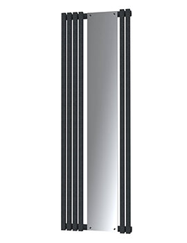 Radox Image D Designer Vertical Radiator 535 x 1800mm - Textured Black