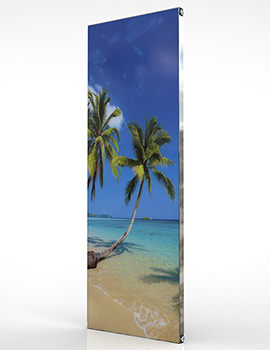Radox Quartz Bespoke Digital Print Glass Designer Vertical Radiator