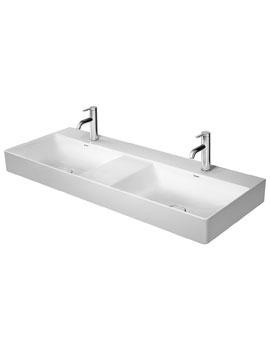 Duravit DuraSquare Furniture Double Washbasin 1200mm
