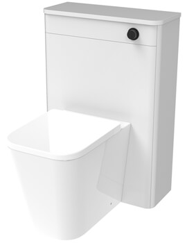 Saneux Hyde 600mm Wide Back To Wall WC Unit With Concealed Cistern
