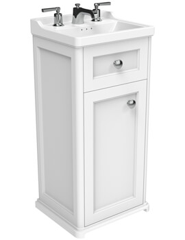 Saneux Sofia 400mm 1 Door And 1 Drawer Floor Standing Unit