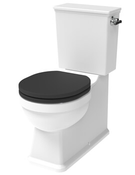 Saneux Sofia Closed Couple WC Pan With Cistern