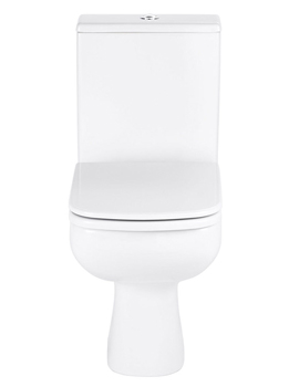 Frontline Ballini Easy Clean WC With Soft Close Seat