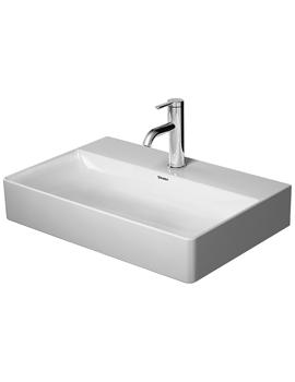 Duravit DuraSquare Furniture 600mm Washbasin Compact Ground
