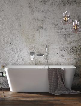 Frontline Mono Luxury Back To Wall Freestanding Bath