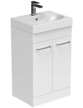 Saneux Austen 500mm 2 Door Floor Standing Cabinet
