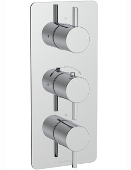 Saneux Cos Concealed Three Way Thermostatic Shower Valve