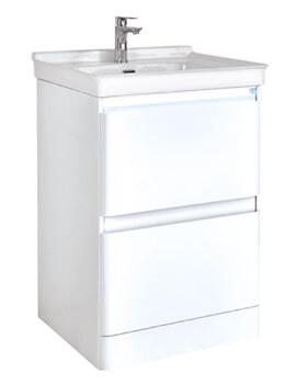 Phoenix Fonte Floorstanding Vanity Unit And Basin