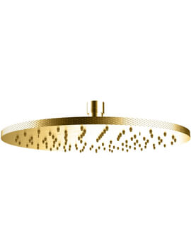 Crosswater Union Wall Mounted Round Showerhead 250mm