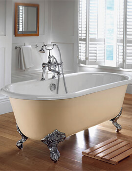 Imperial Bentley Cast Iron 1700mm Bath With Primed Cast Iron Feet