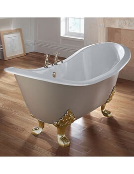Imperial Sheraton 1800mm Slipper Bath With Cast Iron Lion Feet