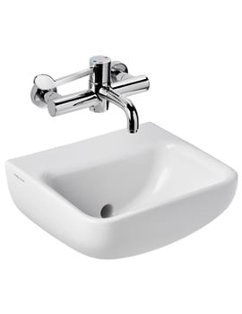 Armitage Shanks Contour 400mm Back Outlet Washbasin