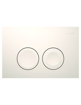 Geberit Delta21Dual Flush Plate 246 x 164mm