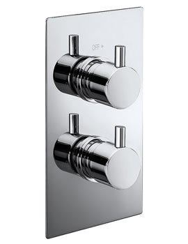 Frontline Pure Twin Concealed Thermostatic Shower Valve
