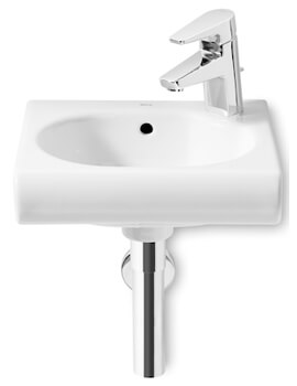 Roca Meridian-N Compact Wall Hung Basin With 1 Taphole
