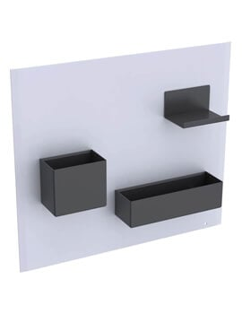 Geberit Acanto 449 x 388mm Magnetic Board With Storage Boxes