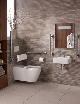 Ideal Standard Concept Freedom Ensuite Bathroom Pack With WC And 400mm Basin