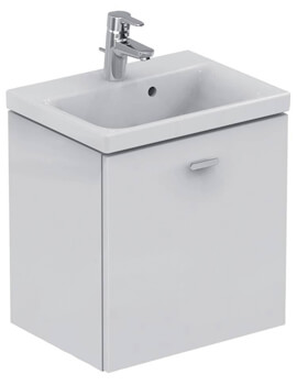 Ideal Standards Concept Space Basin With 500mm Wall Hung Unit
