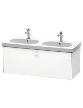 Duravit Brioso 1 Drawer Wall Mounted 1170mm Vanity Unit For D-Code Basin