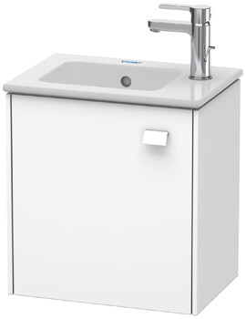 Duravit Brioso 1 Door Wall Mounted Vanity Unit For ME by Starck Basin